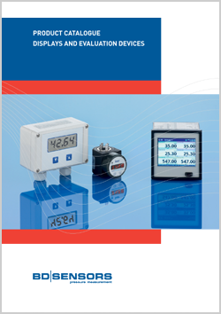 BD|SENSORS Product catalogue Displays and Evaluation Devices | H&H Measurement