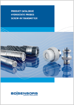 BD|SENSORS Product catalogue Hydrostatic Probes Screw-in Transmitter | H&H Measurement
